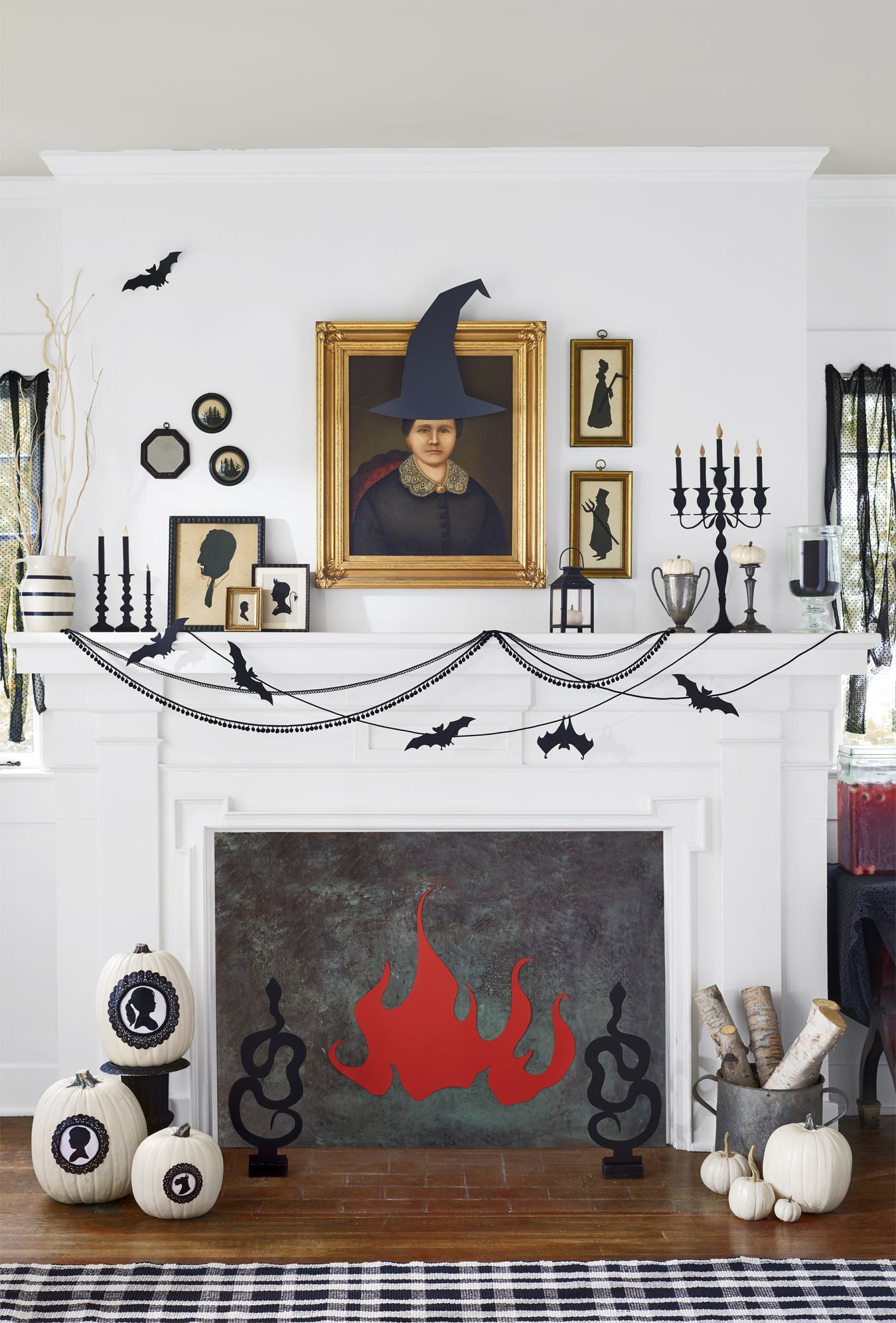 56 Fun Halloween Party Decorating Ideas - Spooky Halloween Party Decor