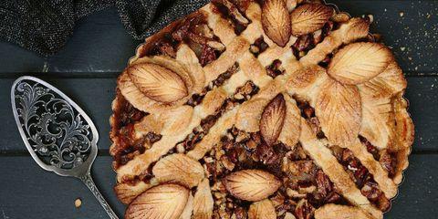fall leaf pie