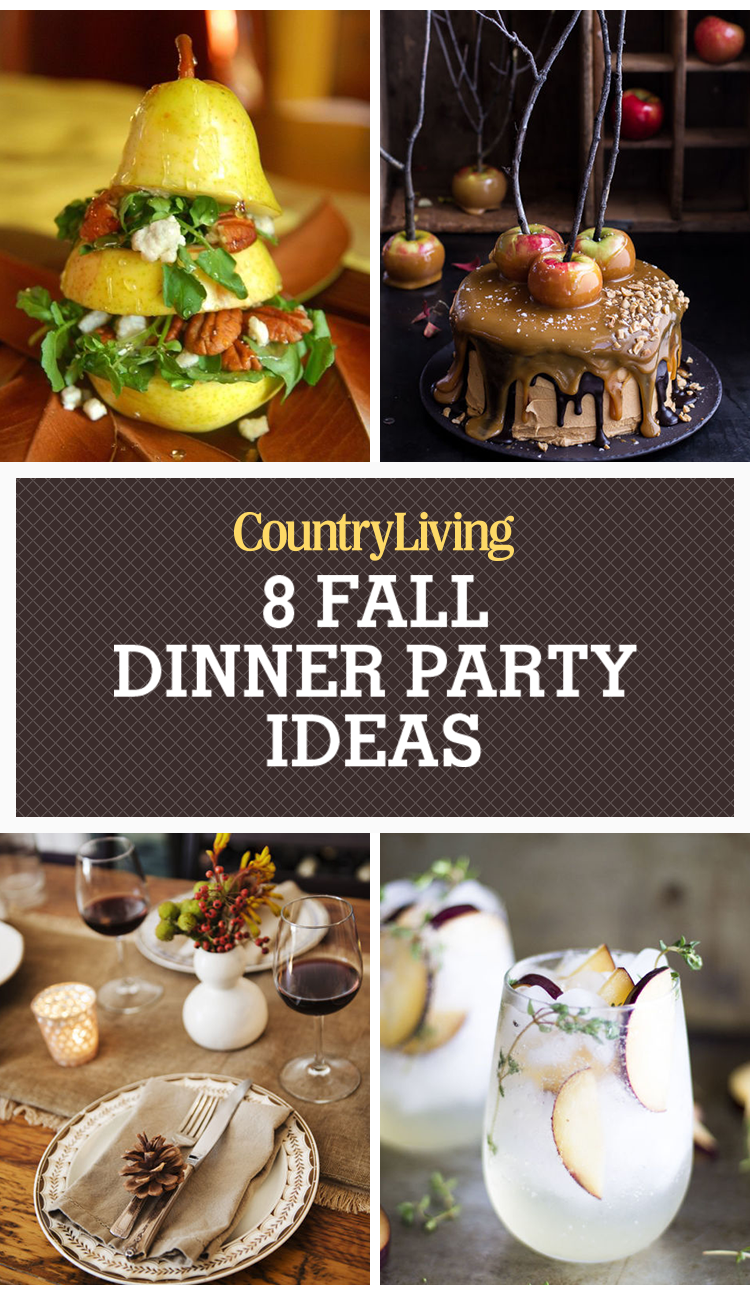 Dinner Ideas For A Dinner Party Part - 26: Country Living Magazine