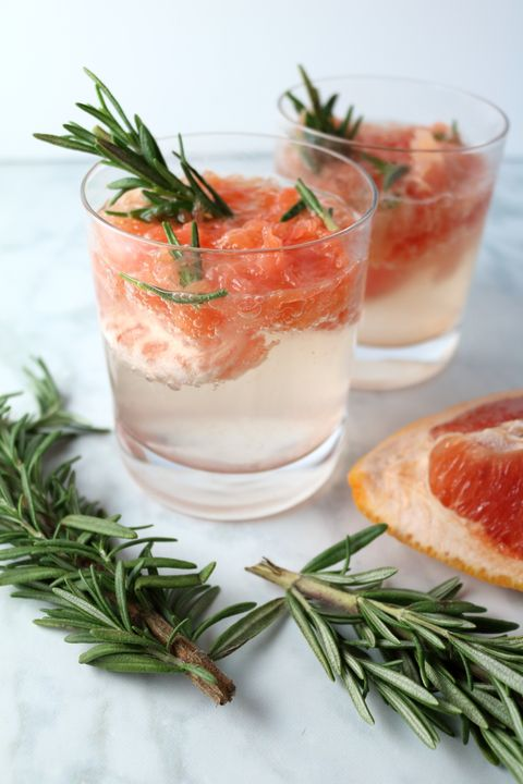 Grapefruit & Rosemary Margaritas