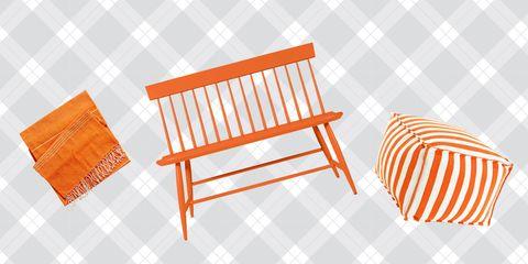 Orange, Line, Amber, Pattern, Hardwood, Peach, Tan, Parallel, Outdoor furniture,