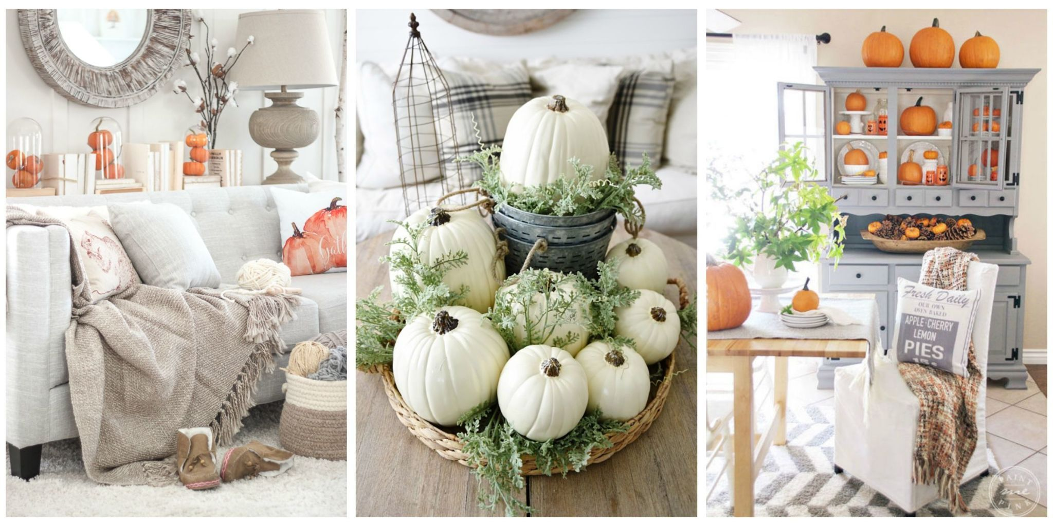 Donu0027t Stop At Simply Placing A Pumpkin On Your Porch This Seasonu2014use This  Fall Staple To Give The Rest Of Your Home A Seasonal Update, Too.