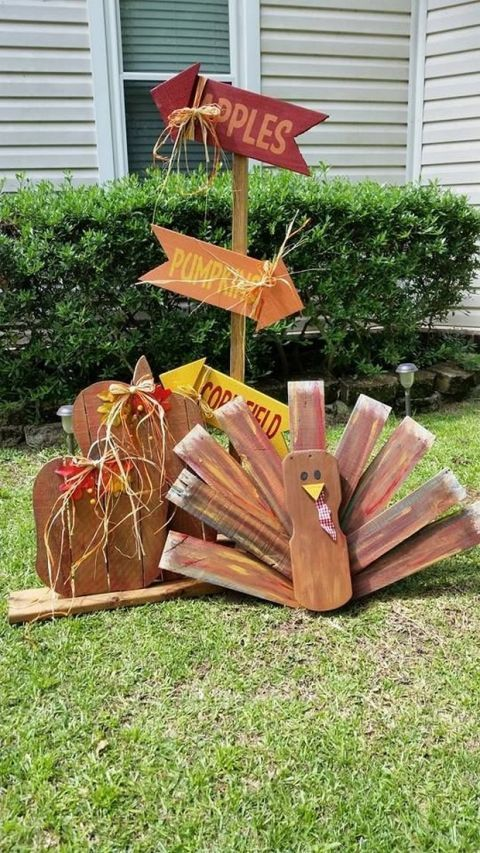 Fall Pallet Projects - Crafts for Fall Using Wood Pallets
