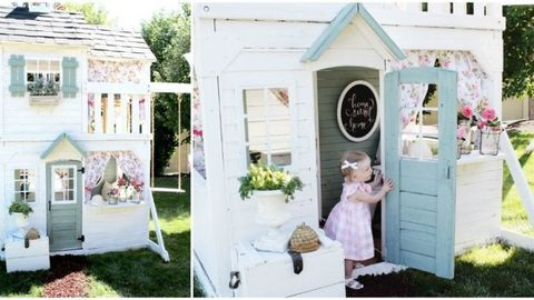 The Before and After Photos of This Playhouse Will Leave You Mesmerized