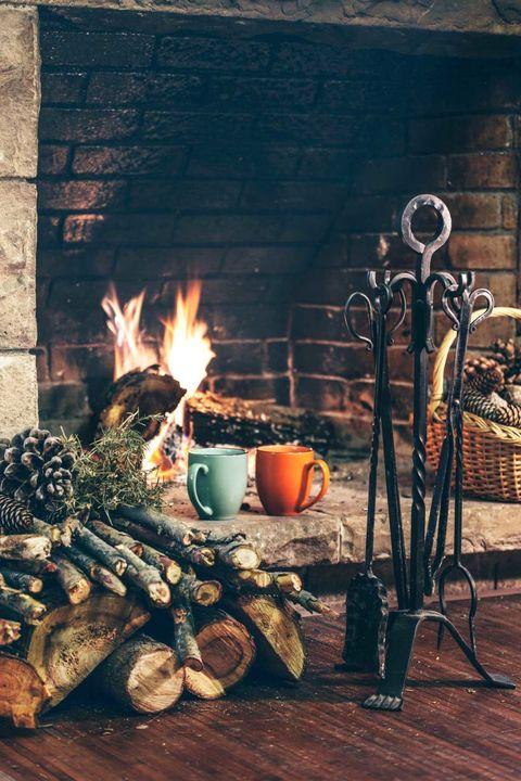 Wood, Heat, Fire, Flame, Brick, Cup, Still life photography, Gas, Hearth, Brickwork,