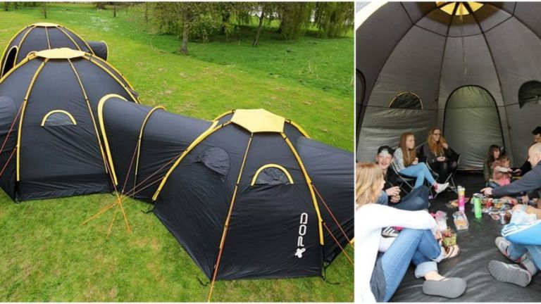 Courtesy of PodTent & PodTent Camping Tents - Linking Camping Tents