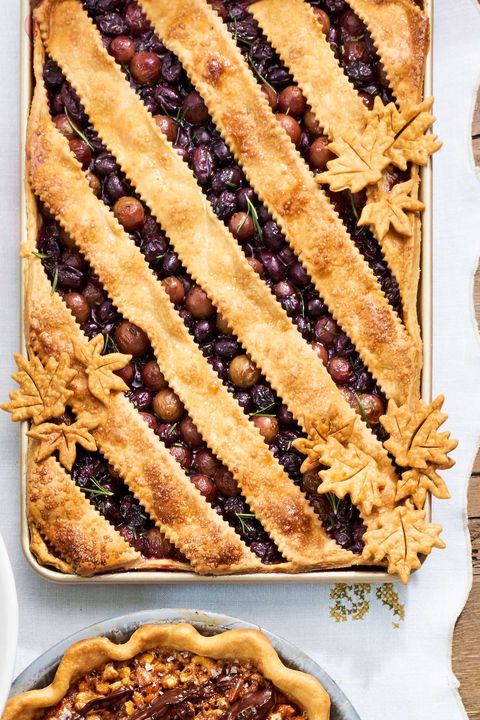 Grape Slab Pie Recipe