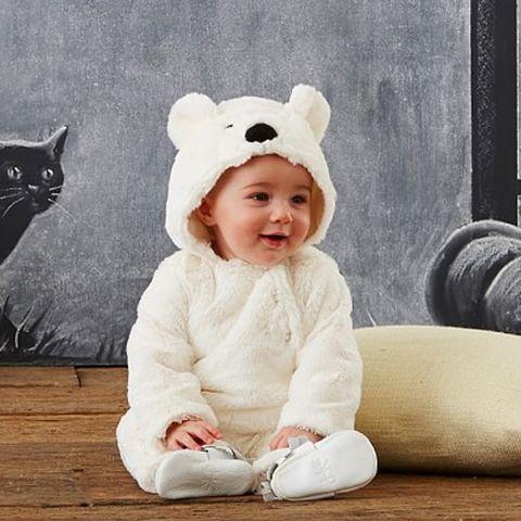 baby polar bear costume