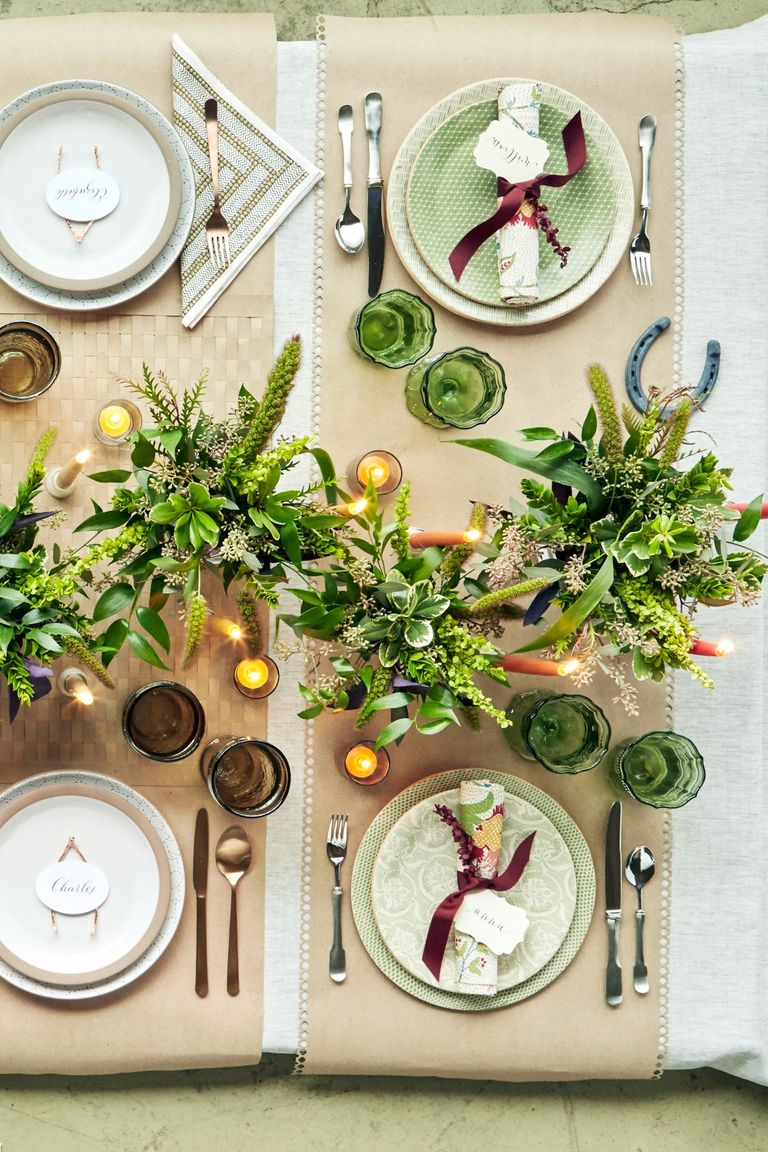 40 Thanksgiving Table Settings Thanksgiving Tablescapes: cheap thanksgiving table setting ideas