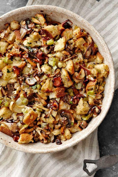 best thanksgiving recipes mushroom stuffing