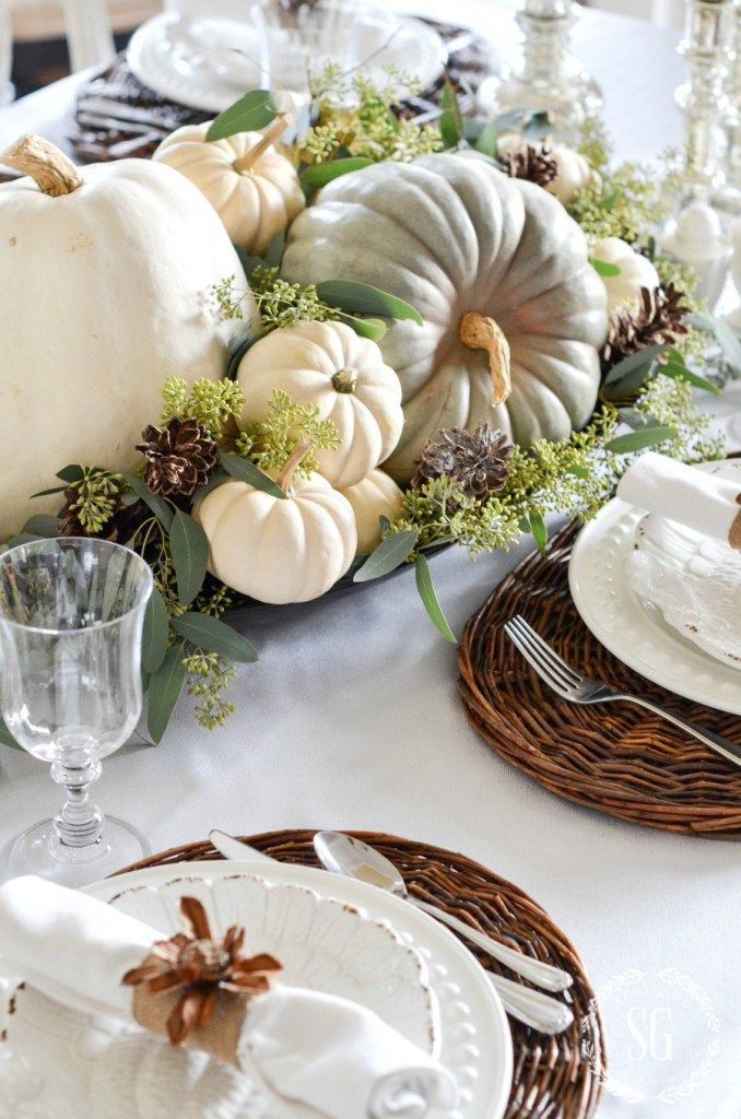 40 Thanksgiving Table Settings Thanksgiving Tablescapes. Instructions To Make Christmas Table Decorations Martha Stewart . : thanksgiving table settings martha stewart - pezcame.com