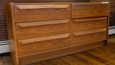 Furniture, Chest of drawers, Drawer, Hardwood, Wood stain, Wood, Varnish, Dresser, Sideboard, Chiffonier,