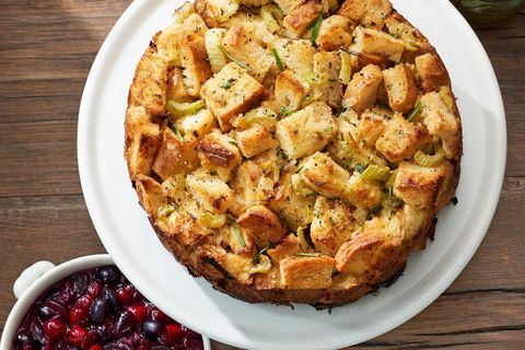 Rosemary Monkey Bread Stuffing Recipe