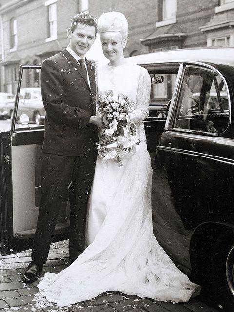 Couple Celebrates 50th Anniversary In Same Wedding Dress 50th