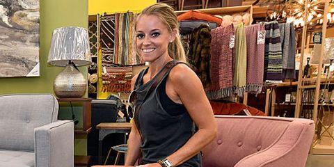 Shoulder, Textile, Watch, Wrist, Clothes hanger, Chest, Blond, Lamp, Market, Bracelet,