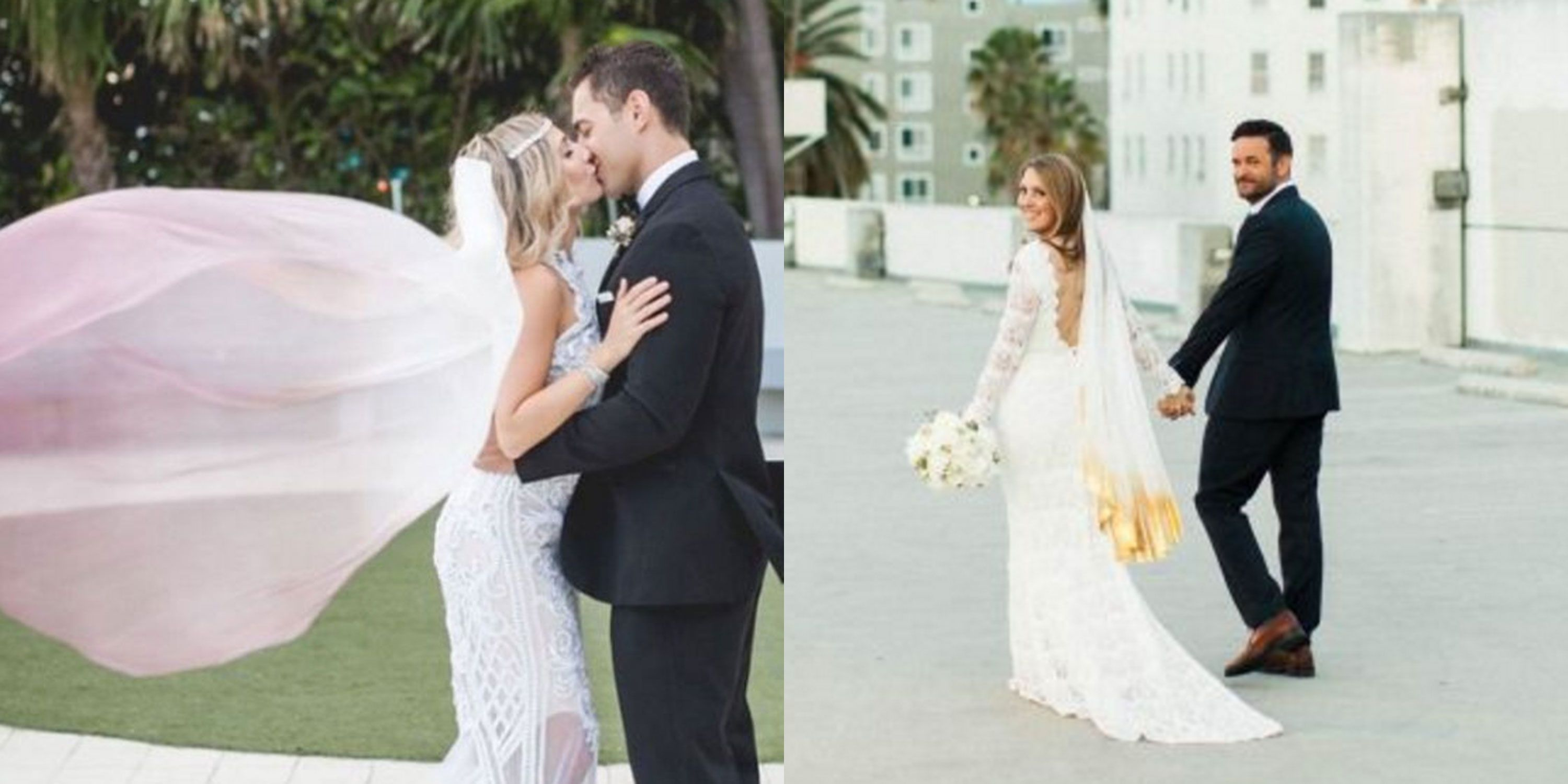 Ombre Wedding Veil Trend - Ways to Customize Your Wedding Dress