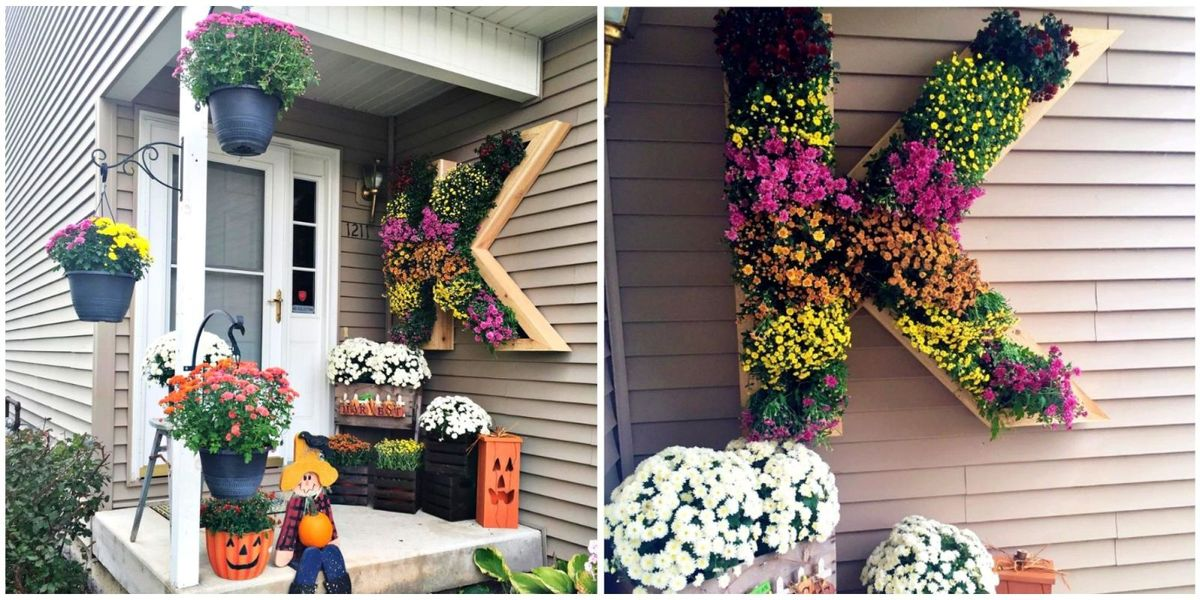 This Is The Most Stunning Way To Display Mums On Your