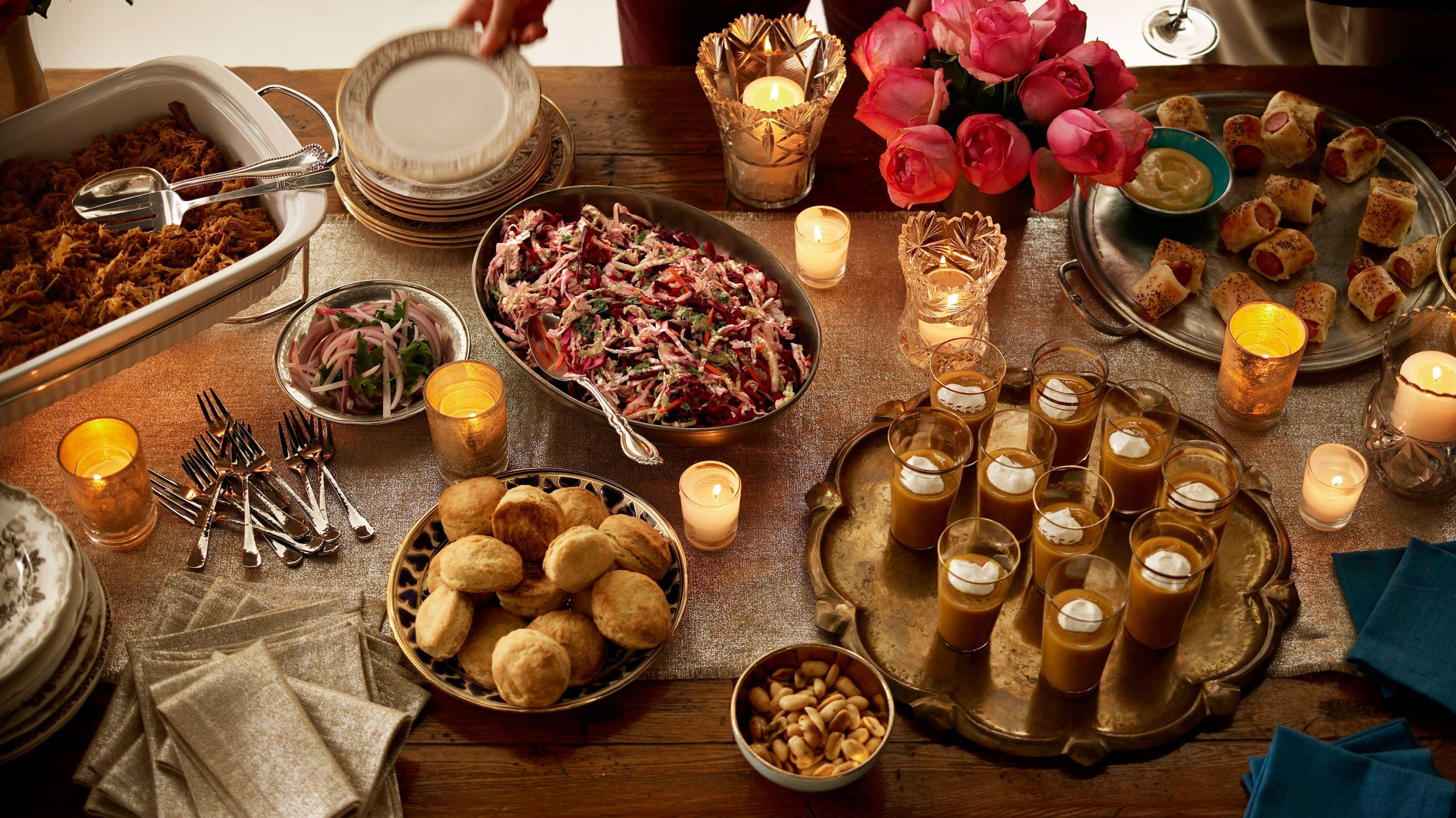 Christmas Party Food Menu Ideas Part - 44: Budget-friendly Christmas Dinner Party