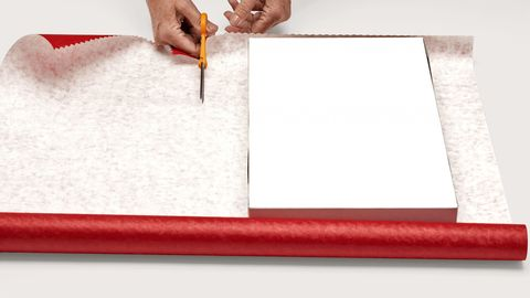 how to wrap a gift step by step