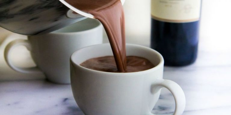 Red Wine Hot Chocolate Is Here To Cure All Your Winter Blues