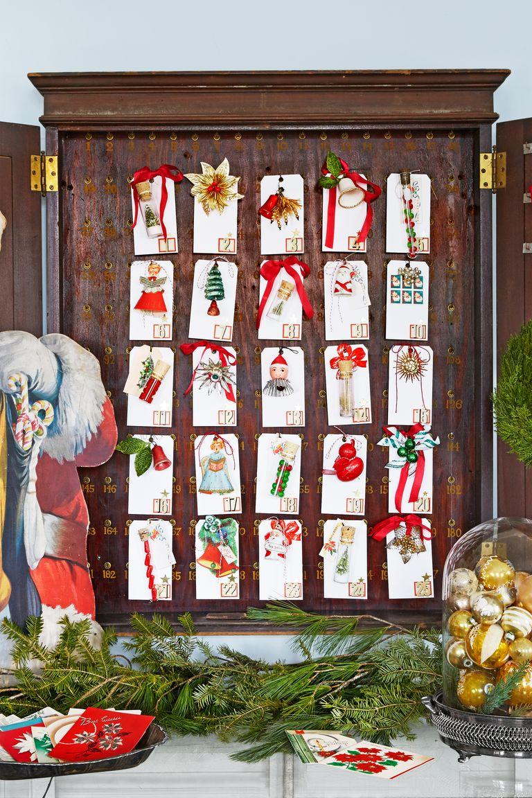 33 diy advent calendar ideas homemade christmas advent. Black Bedroom Furniture Sets. Home Design Ideas