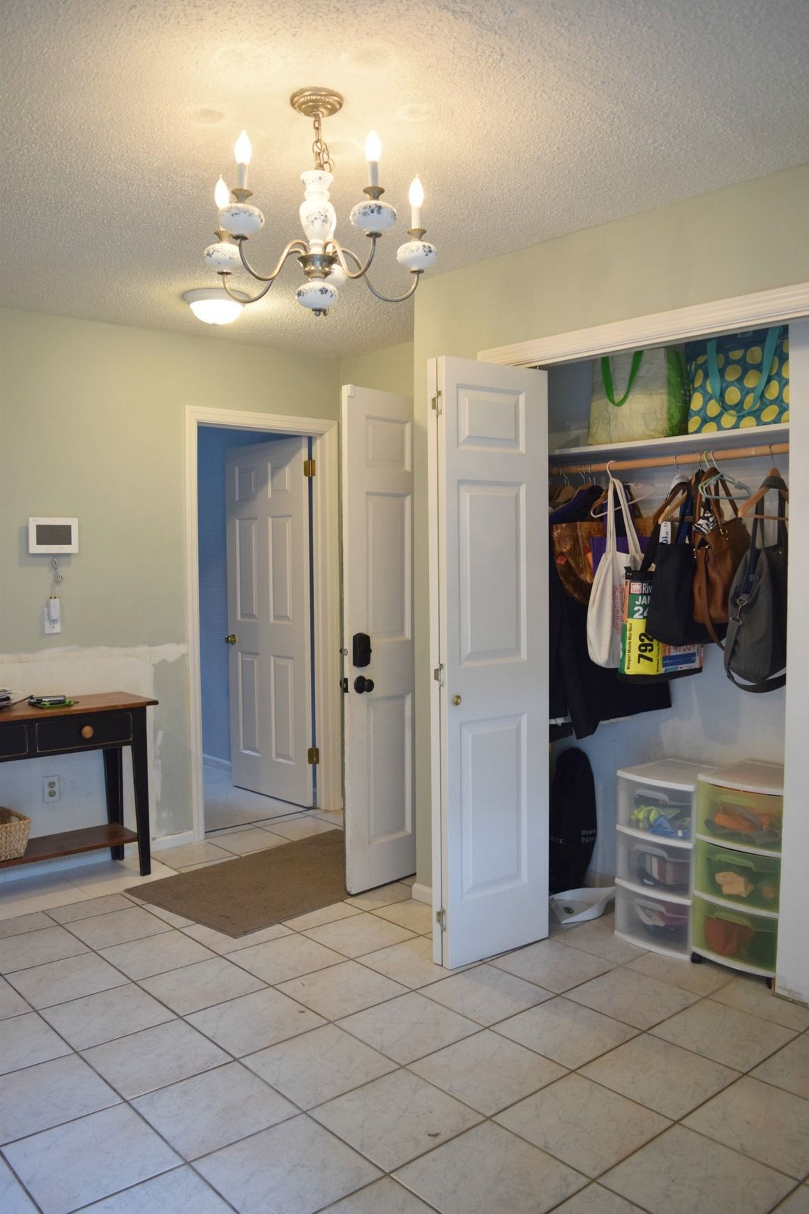 The Mudroom Before The Makeover With Mudroom Ideas