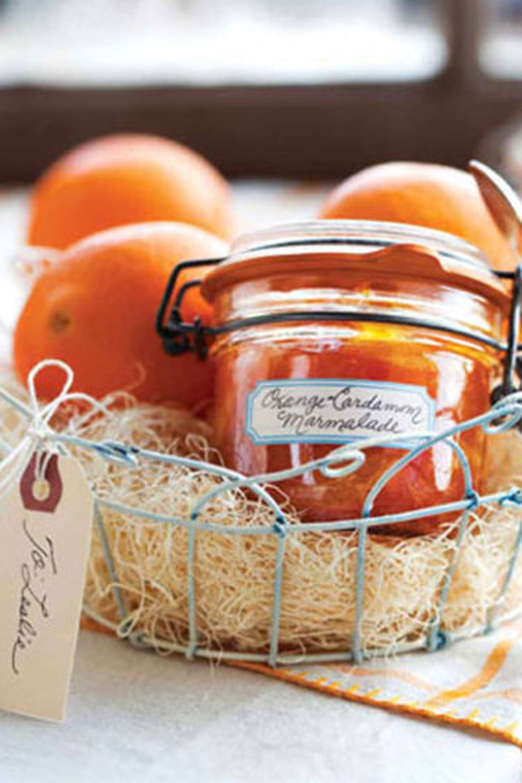 diy marmalade gift basket & 18 DIY Christmas Gift Basket Ideas - How To Make Your Own Holiday ...