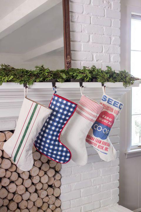 country stockings - Country Christmas Stockings