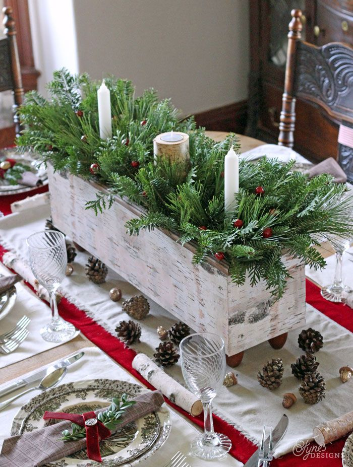 35 best christmas table settings decorations and centerpiece ideas for your christmas table - Christmas Table Decorations