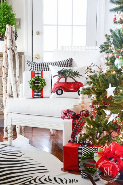 100 country christmas decorations holiday decorating ideas 2018 - Christmas Home Decor