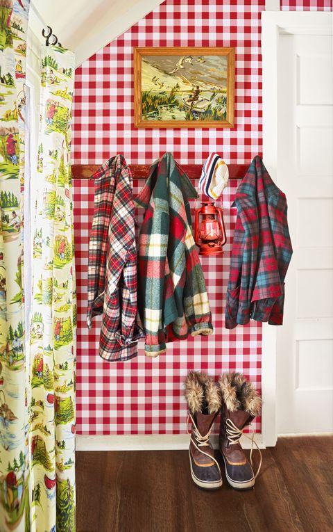Brown, Plaid, Pattern, Textile, Red, White, Tartan, Style, Fashion, Linens,