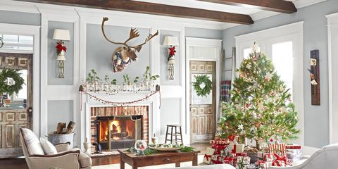 tennessee home decked out with vintage christmas decor - Vintage Christmas Home Decor
