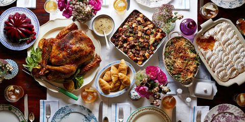 26 thanksgiving menu ideas thanksgiving dinner menu recipes with these tempting menus your whole thanksgiving feast is covered from dinner to dessert forumfinder Image collections