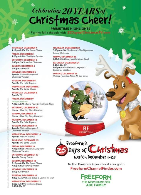 image - Abc Family 25 Days Of Christmas Schedule