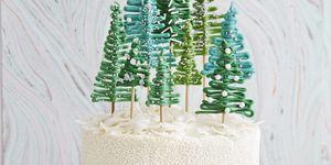 Pine Tree Cake Recipe