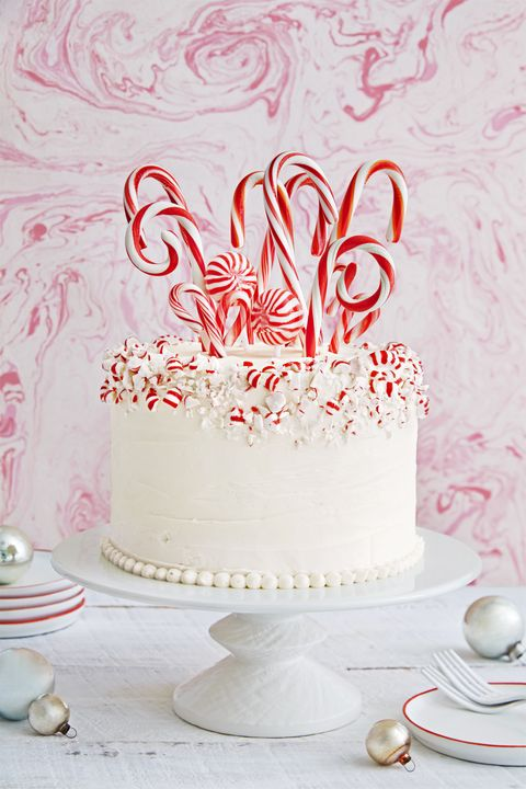 Best Candy Cane Forest Cake Recipe How To Make Candy Cane Forest