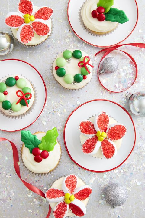 Christmas Candy Cupcakes Recipe