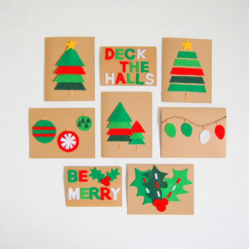 20 DIY Christmas Card Ideas - Easy Homemade Christmas Cards We\'re ...