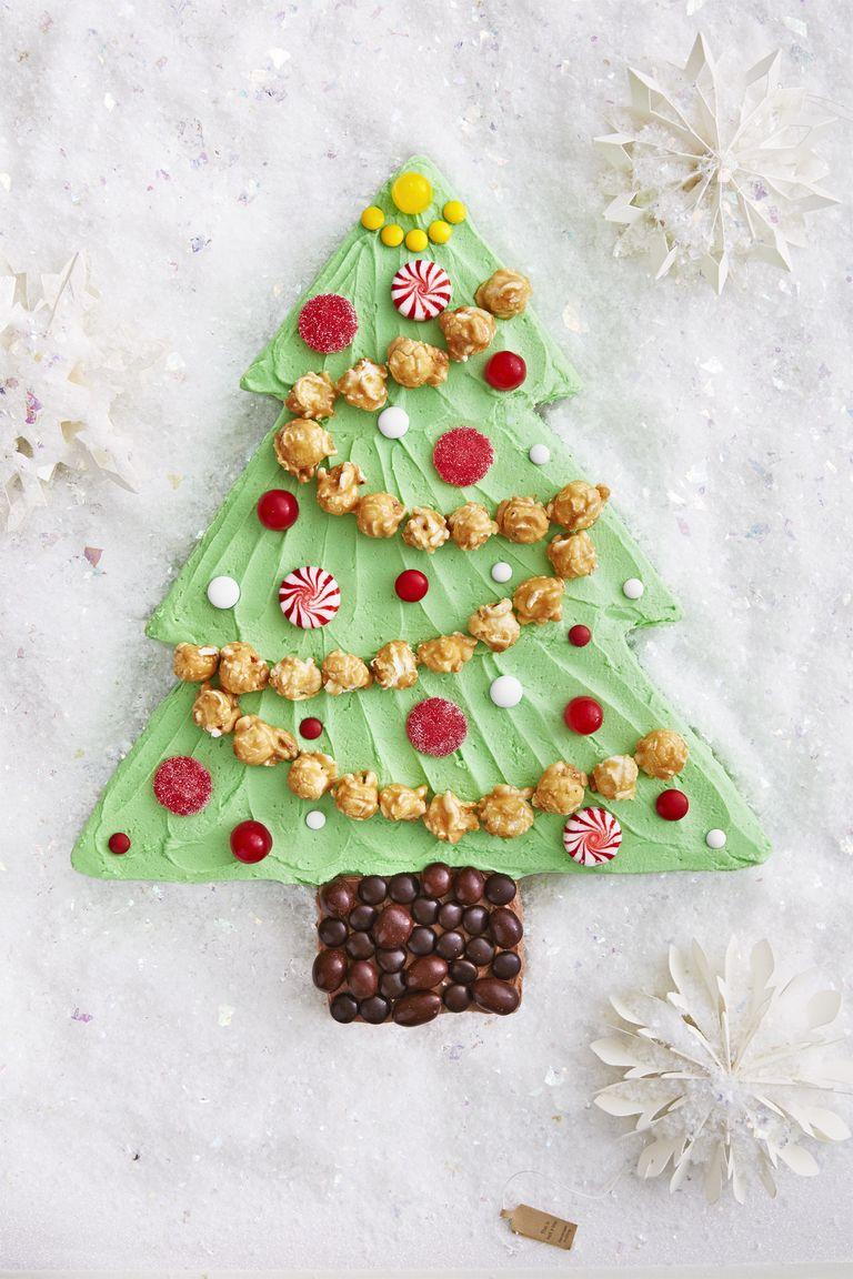 Christmas Tree Chocolate Ripple Cake