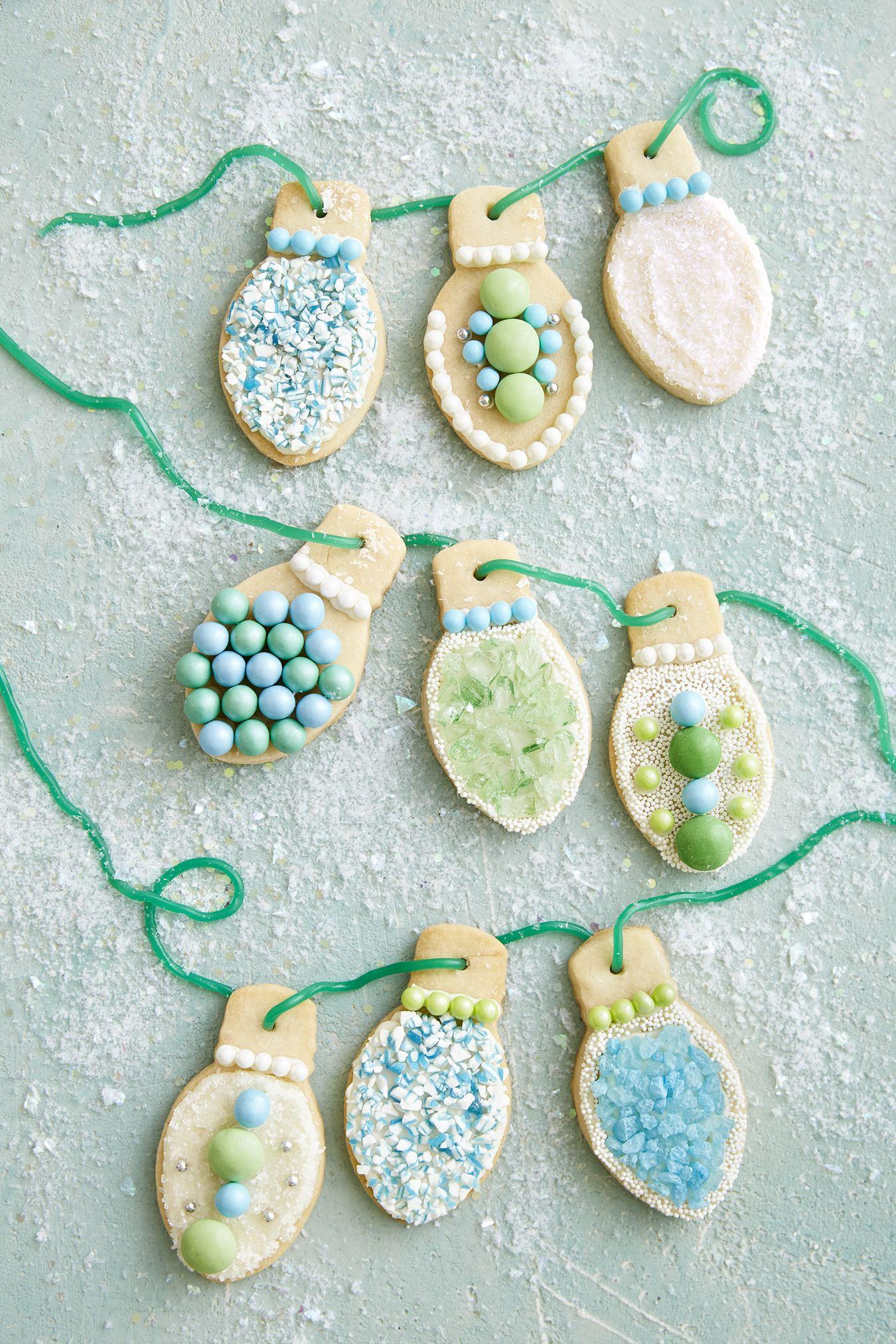 Christmas Light Sugar Cookies