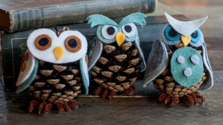 courtesy of lia griffith - Pine Cone Ornaments