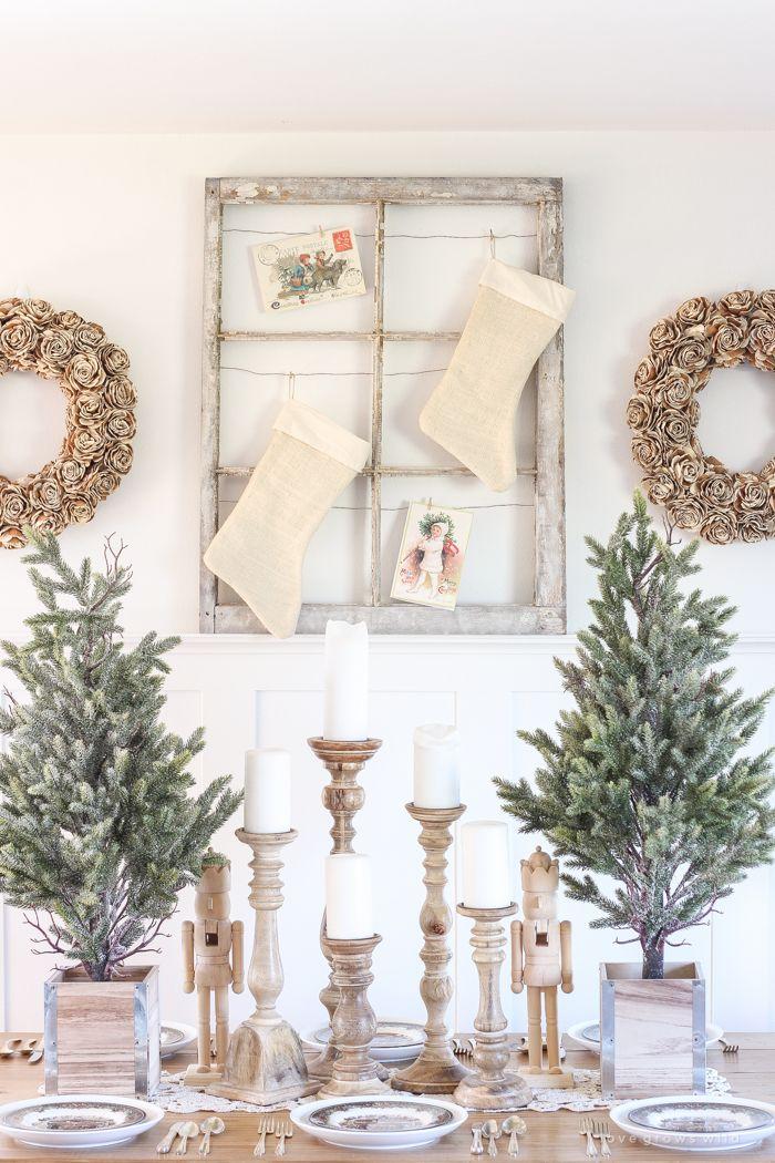 31 Farmhouse Christmas Decorating Ideas Diy Holiday Decorating Ideas From Your Farmhouse