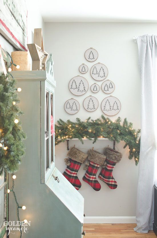 Farmhouse Christmas Decorating Ideas Holiday Decorating Ideas From