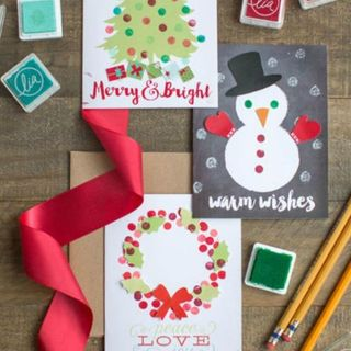 22 fun christmas games activities for kids holiday kids table 15 diy christmas card ideas youll want to send this season solutioingenieria Gallery