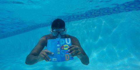 Fluid, Human, Underwater, Fun, Recreation, Water, Underwater diving, Hand, Leisure, Diving equipment,