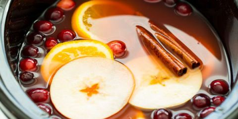 Food, Fluid, Amber, Ingredient, Peach, Dish, Non-alcoholic beverage, Lid, Still life photography, Punch,