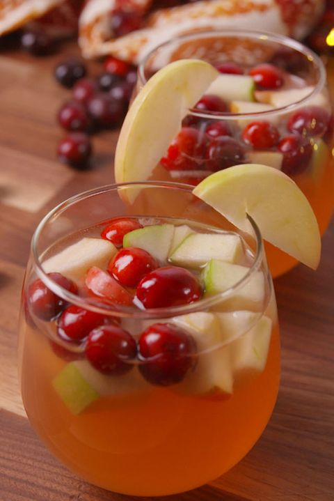 Cranberry Sangria Vertical