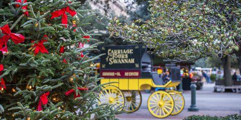 Carriage, Christmas decoration, Wagon, Christmas tree, Holiday, Twig, Holiday ornament, Christmas, Christmas ornament, Christmas eve,