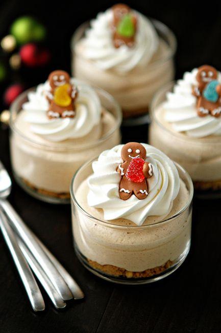 miniature Christmas food