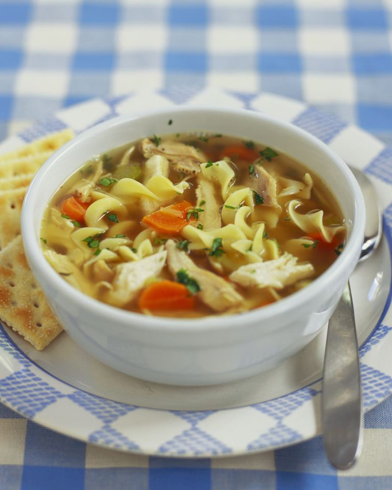 Homemade chicken noodle soup recipe how to make chicken noodle soup homemade chicken noodle soup forumfinder Image collections